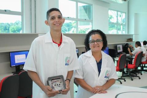 Estudante de Rondônia cria sensor para detecção de vazamento de gás inovador e de baixo custo