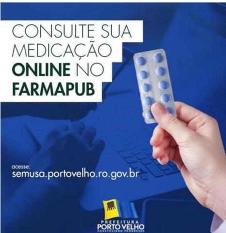 Porto Velho: Lista de medicamentos da Semusa é disponibilizada na internet - Gente de Opinião