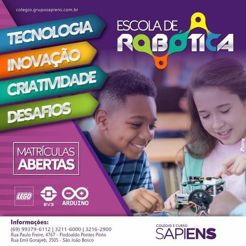 Colégio Sapiens abre cursos de robótica e programação para alunos e comunidade - Gente de Opinião