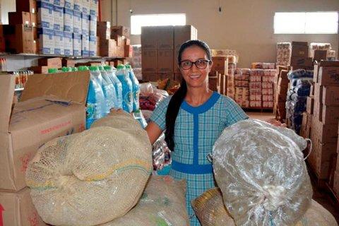 Empresária de Ariquemes aposta na reciclagem em supermercado