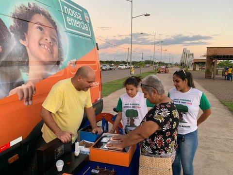 Ceron distribuiu 150 mudas de Ipês em Porto Velho