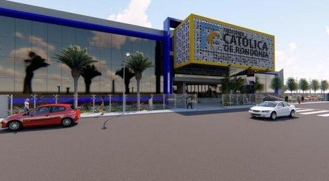 Reitor da Faculdade Católica anuncia o projeto do novo campus