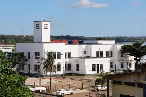 Prédio do Relógio abriga o gabinete do prefeito - Ameron lança concurso de redação  nas escolas públicas estaduais