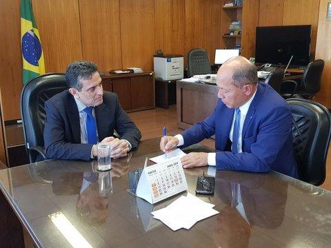 Coronel Chrisóstomo solicita médicos peritos para Rondônia