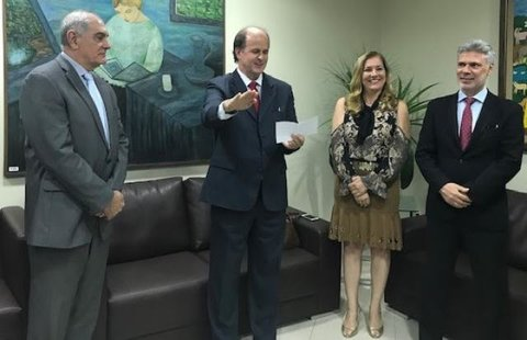 José Antônio Robles toma posse como desembargador do TJRO