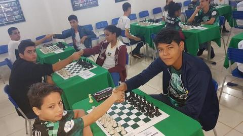A história do jovem Cinta Larga, medalhista nos jogos de xadrez