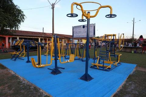 Prefeitura de Porto Velho entrega academia ao ar livre na zona Leste