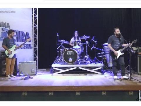 Programa Madeira na Cena com a banda Os Últimos, do município de Ariquemes - RO
