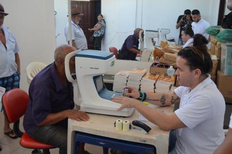 Prefeitura de Rolim de Moura em parceria com a ASESP realiza exames de vista gratuitos