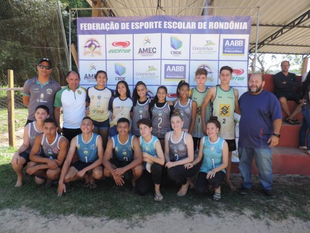 Rondônia classifica seis vagas ao Brasileiro Escolar de Volêi de Praia, em agosto, na Paraíba - Gente de Opinião