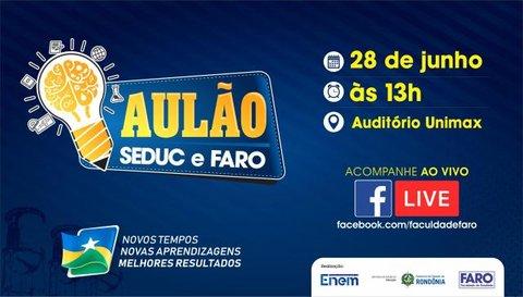Aulão SEDUC e FARO