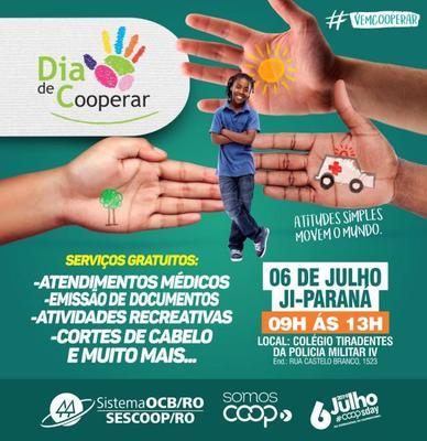 Sistema OCB/SESCOOP – RO promoverá edição do Dia C, em Ji-Paraná