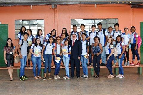 Juízes coordenadores de concurso de redação sobre justiça e cidadania continuam visitas a escolas estaduais pela capital e interior de Rondônia