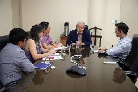 Novo Heuro, que vai substituir Pronto-Socorro João Paulo II, é tema de reunião entre Estado e TCE