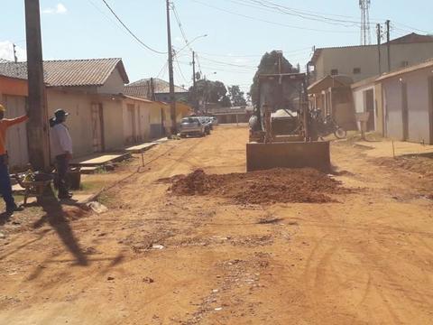 Porto Velho: Dezoito vias serão pavimentadas, totalizando 4,5 Km de asfalto dentro do bairro Conceição