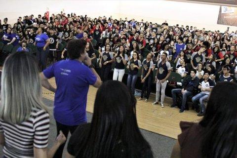 Aulão Seduc em parceria com a Faro movimentou quase mil alunos da rede pública de ensino de Porto Velho