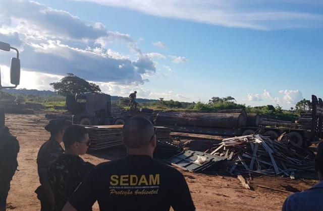 Sedam atua em parceria com o Batalhão de Polícia Ambiental para combater os crimes contra o Meio Ambiente. - Gente de Opinião