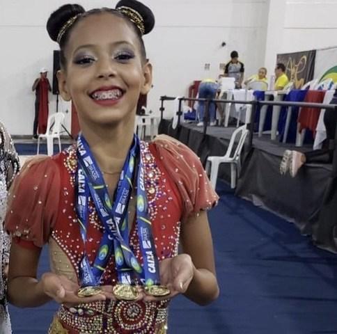 Ginasta de Rondônia leva ouro em torneio Regional de Ginástica Rítmica-etapa Norte no Amazonas - Gente de Opinião