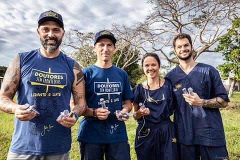Médicos voluntários salvam a vida de dois pacientes após queda de árvore no distrito de Surpresa