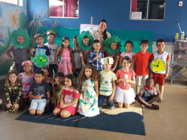 """Rolim de Moura - Escola Municipal Cora Coralina realizou o Projeto """"A Mágica da Leitura e da Escrita"""" - Gente de Opinião"""