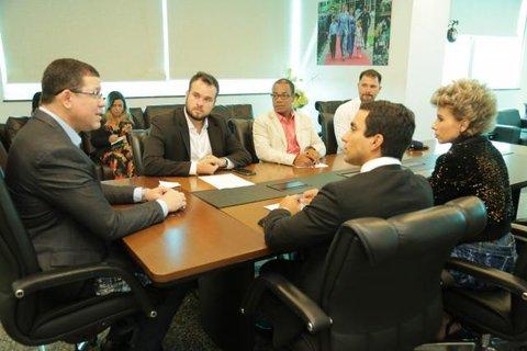 Governador Marcos Rocha e membros do MPF alinham ações de avanço no combate a corrupção e de etnodesenvolvimento