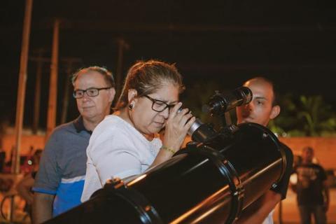 Observação pública do Clube de Astronomia de Rondônia leva multidão ao Espaço Alternativo