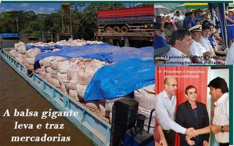 Negócios entre Rondônia e a Bolívia - Pré candidatos em 2020 e seus vices - O Dom Quixote da BR 319