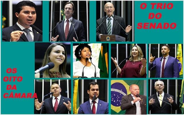 Marcos Rogério e Léo Moraes são destaques - O caso Dnit ainda ferve - Por favor, mintam menos!     - Gente de Opinião