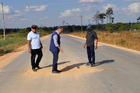 Deputado Geraldo da Rondônia cobra do governo manutenção da RO-459 de acesso a Alto Paraíso