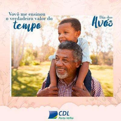 CDL incentiva celebração do Dia dos Avós