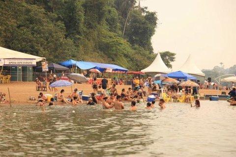 Festival de praia de Vila Calderita  com apoio do governo via Setur - Sambista Carlinhos Moreno  Temporada em Porto Velho
