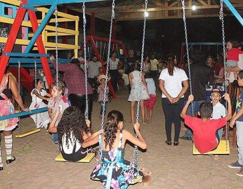 Adelino e Lucas Follador viabilizam o primeiro parque adaptado em escola de Rondônia