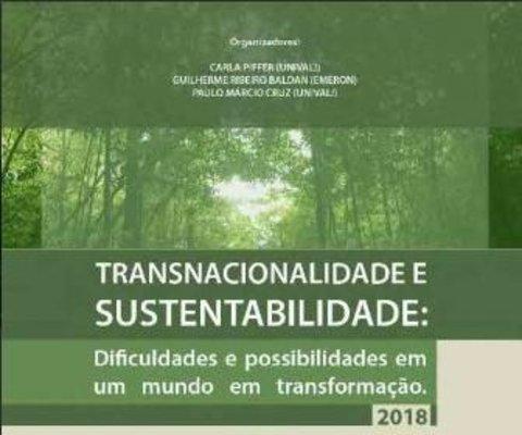 Chamada de artigos científicos para segunda edição de e-book da Emeron sobre transnacionalidade e sustentabilidade