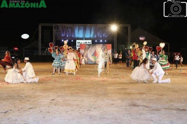 Quadrilha de Ji Paraná disputa  eliminatória no Flor do Maracujá - Arraial Flor do Maracujá  em fase final de montagem - Gente de Opinião