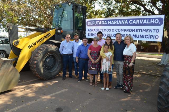 Deputada Mariana Carvalho visita Rolim de Moura e recebe demanda do prefeito Luizão do Trento - Gente de Opinião