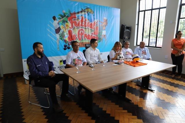 Festival de Praia de Jaci-Paraná é lançado na Prefeitura da capital - Gente de Opinião