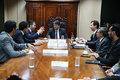 Senador Marcos Rogério busca soluções para portos, aeroportos e rodovias em Rondônia
