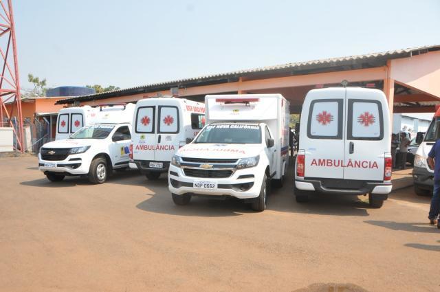 Frota de ambulâncias tem crescimento na gestão de Hildon Chaves - Gente de Opinião
