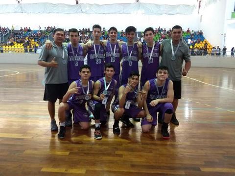 Time de basquete do Colégio Sapiens é vice-campeão do pré-Joer