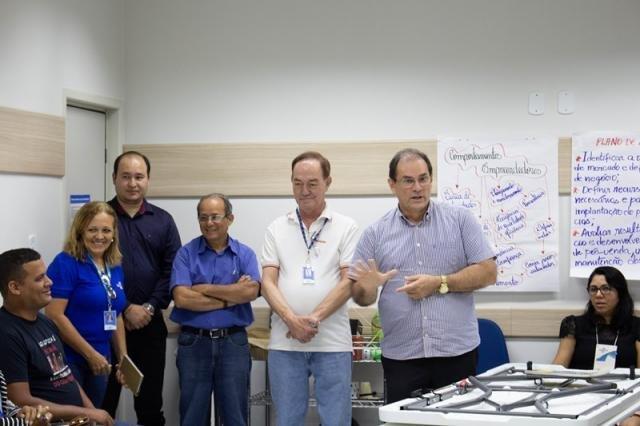 Diretores do Sebrae presentes na capacitação de professores - Gente de Opinião
