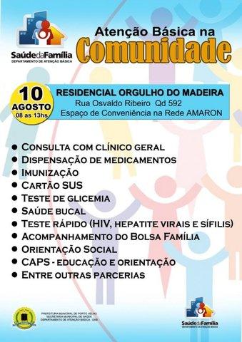 Semusa realiza ação de saúde no Orgulho do Madeira - Gente de Opinião