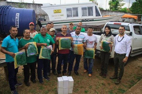 Energia Sustentável do Brasil doa mosquiteiros para prevenção de malária em terras indígenas