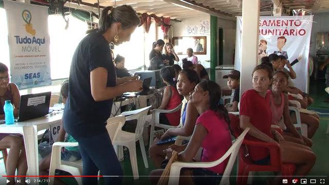 Vídeo - Justiça Itinerante: mais de 2 mil pessoas passaram pelo atendimento no barco da Justiça - Gente de Opinião