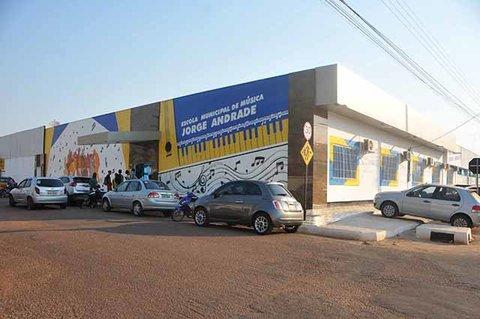 Escola de Música Jorge Andrade está funcionando em novo endereço
