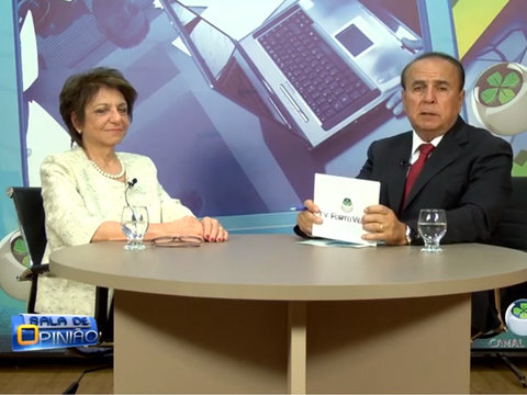 Programa Sala de Opinião entrevista Drª Carmita Abdo ( Psiquiatra e Coordenadora do Programa de Estudos  em Sexualidade).