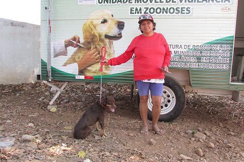 Semusa leva vacinação para bairros de Porto Velho