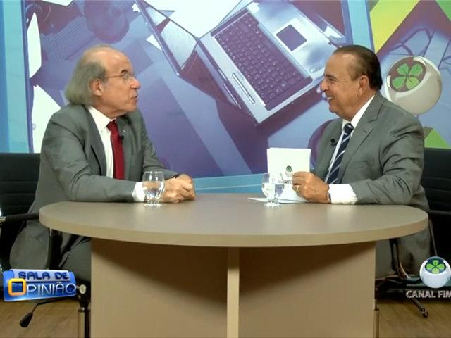 Dr. Aparício Carvalho entrevista o médico psiquiatra Dr. Jorge Jaber - Gente de Opinião