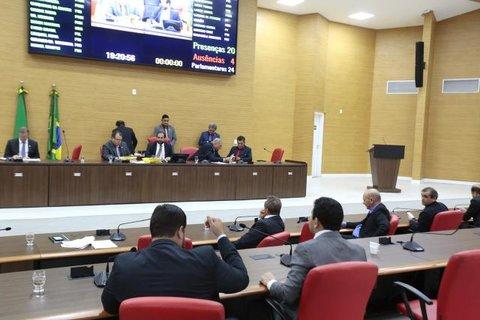 Assembleia aprova R$ 192 milhões em créditos suplementares para o Executivo e poderes