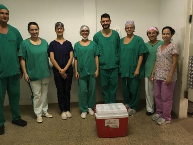 Equipe da Central de Transplantes que viajou até Cacoal para captação de rins - Gente de Opinião