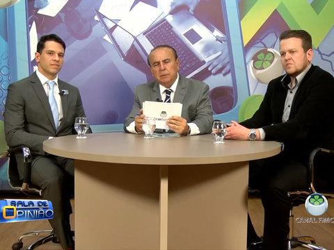 Aparício Carvalho entrevista os Doutores Delano Freire e Felipe Becker